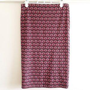 4/20$ Forever 21 pink lotus pencil skirt